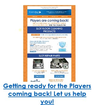 Getting ready for the Players coming back! Let us help you!
