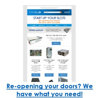 Re-opening your doors? We have what you need!