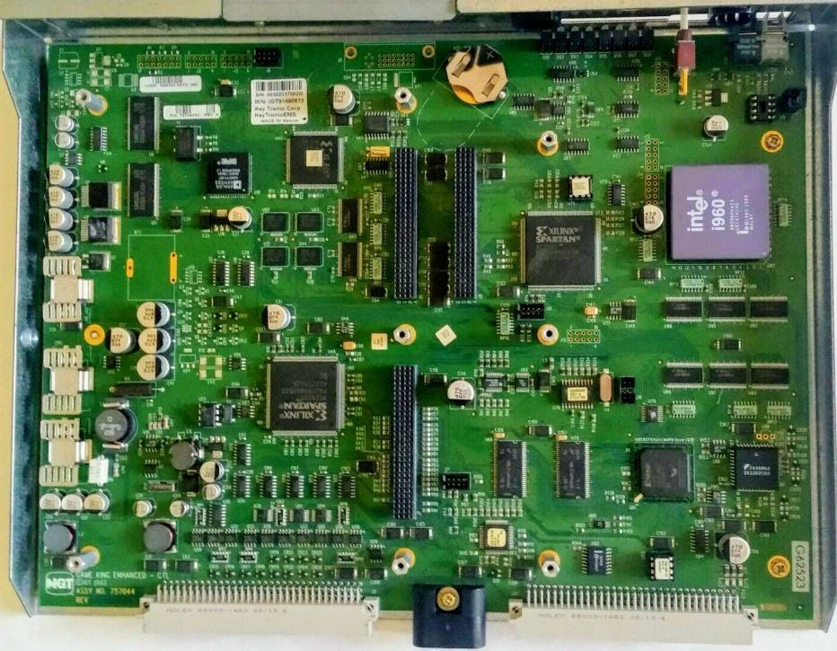 IGT Part 75703407 Rev C 3396GTC CPU Board IGT PE